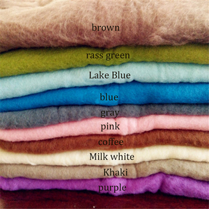 Image 5 - 20 צבעים 60*60cm פלאפי צמר צמר יילוד שמיכת סל מילוי Stuffer יילוד צילום Props סופר רך תינוקות שמיכות
