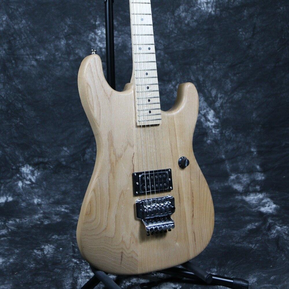 Livraison gratuite Instock SR-019 l-charvel bricolage Kit de guitare électrique à la main activités promotionnelles peuvent offre spéciale personnalisée