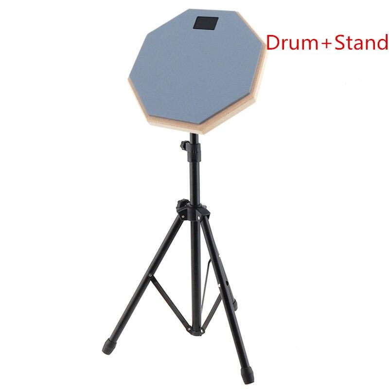 tambor iniciante prática treinamento tambor almofada com