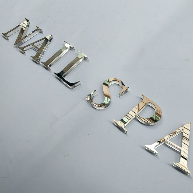 3D Laser cut Acrylic Signs customized Alphabet Letters office wall sign
