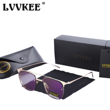 LVVKEE Moda Señoras del diseño de Marca sin montura gafas de sol de Las Mujeres UV400 Marco de Metal Retro gafas de Sol gafas de sol feminino