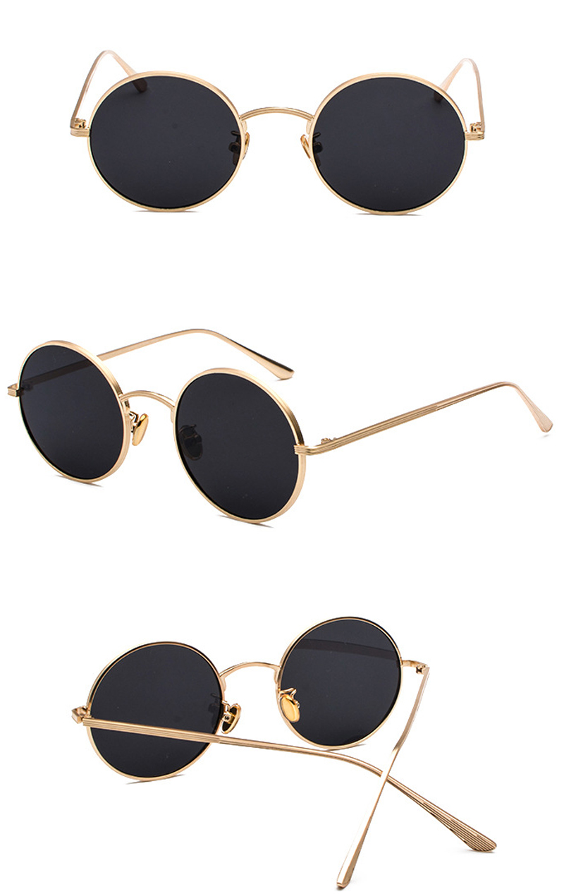 women sunglasses with red lenses detail (3)