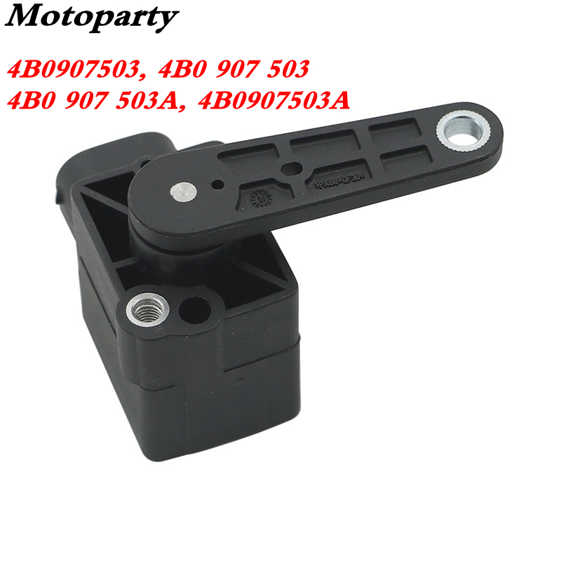 OEM 4B0907503 4B0 907 503 4B0 907 503A 4B0907503A Headlight Level Sensor  Fit Audi A3 A4 B5 A6 C5 A8 TT S4 S6 RS6 for Beetle