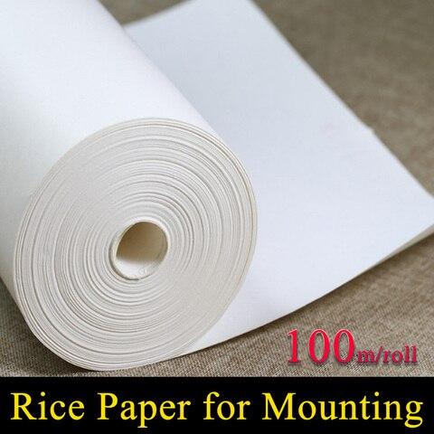 papel de arroz especial montado para a tecnica de montagem de materiais de pintura caligrafia
