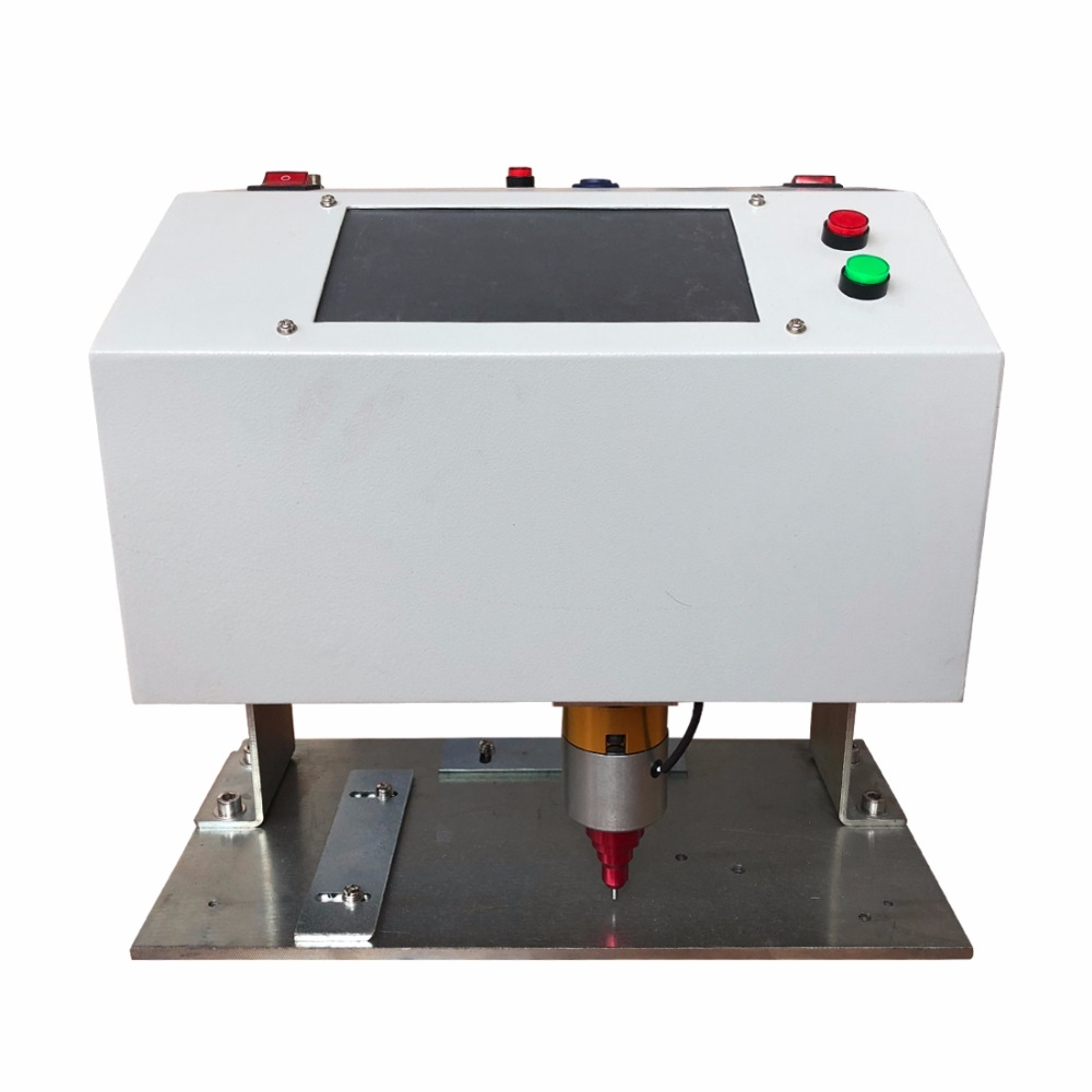 China High Speed Dot Peen Metal Tag Marking Machine, Easy use Metal Plate Stamping and Engraving equipment