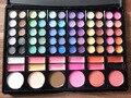 78 cores Professional Makeup Palette Define Combo matte & shimmer sombra Concealer Brightening pó Facial à prova d' água
