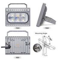 Focos LED 220V Exterior 20W 30W 50W Ultra thin LED Reflector Flood Light Waterproof IP66 Outdoor LED FloodLight Garden Lamp