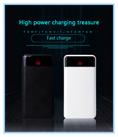 20000mAh 3USB Power Bank External Battery Portable Charger Bateria Externa Pack Li Polymer poverbank for Xiaomi Iphone 7 8 X