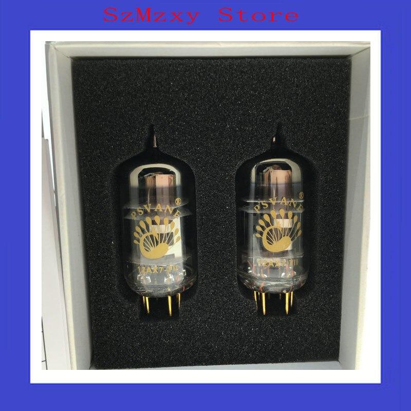 2PCS 2AX7-TII tube DIY HIFI MARKII 12AX7 ECC83 psvane 845 tii vacuum tube mark tii series collection edition hifi exquis factory matched pair 845 tii 2pcs electronic valve