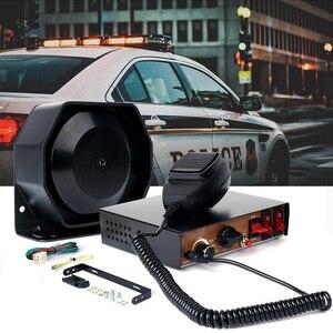 Voiture avertissement d'urgence Police sirène Auto camion alarme Microphone haut-parleur incendie Ambulance moto klaxon DC 12V 200W Super fort