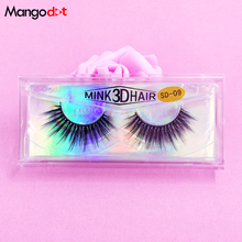 3d lashes Black Packaging Fake Lashes