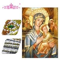 Diamond Painting Diamond Embroidery DaiNaSi 3D DIY Diamond Mosaic Embroidery Paste Chrismas Gifts