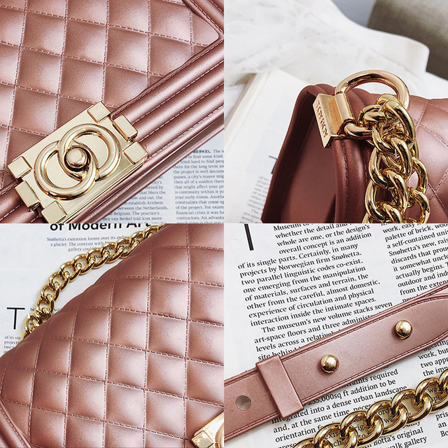 MSGHER High-class Design Mini Small Women Bags Female Chain Jelly Bag PU Leather Shoulder Bags Handbags for Women WB1816
