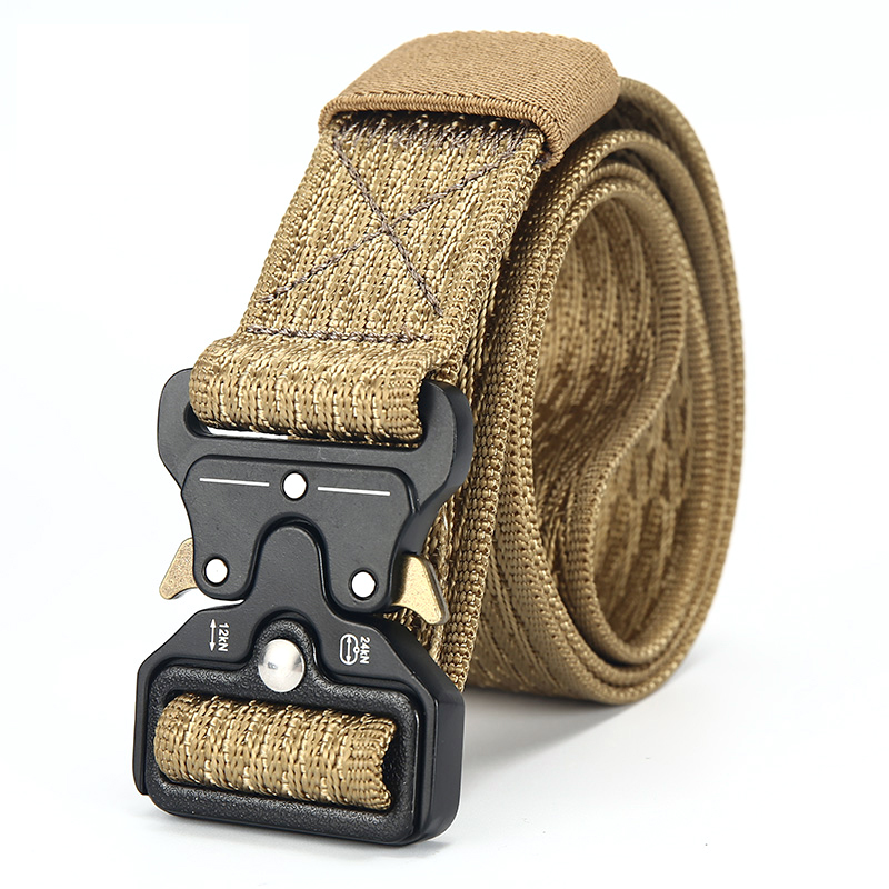 US $6 07 46% OFF|[DWTS]Mens Canvas Belt Male Tactical Belt Men Outdoor Army  Belt 100% Nylon Training Military Belts High Quality cinturon tactico-in
