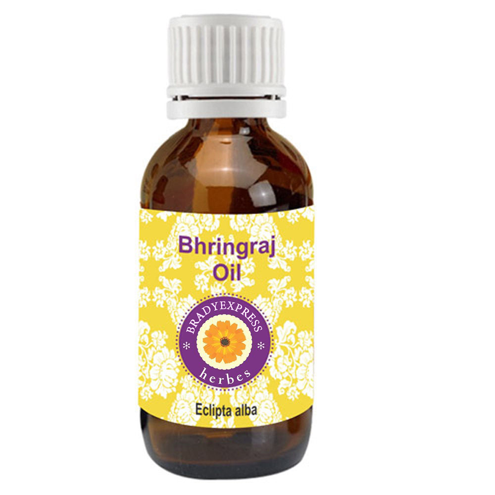 FRee Shipping Pure Bhringraj Oil Eclipta Alba 100% Natural Therapeutic Grade Rare Herb Series  5ML