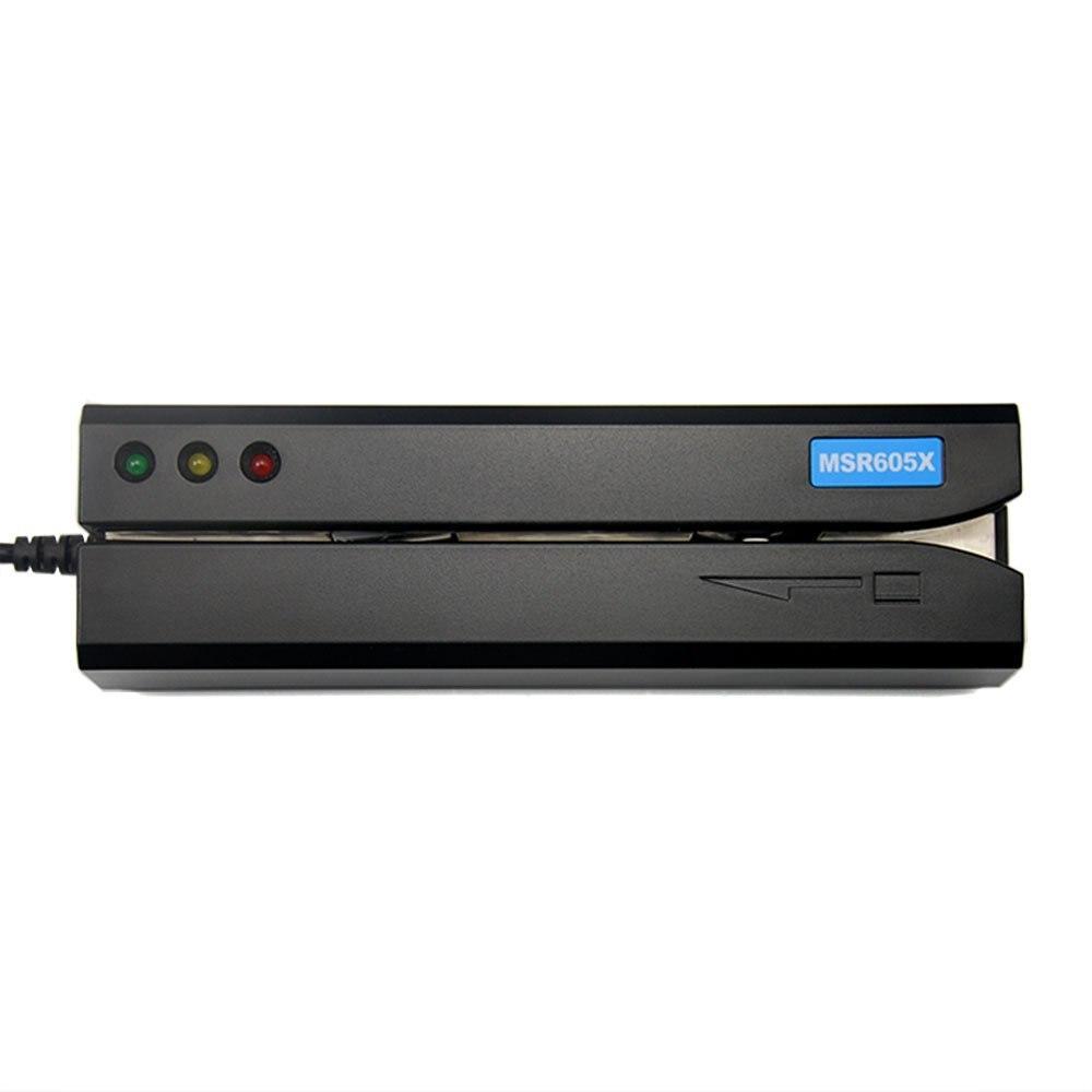 MSR605X lecteur de carte écrivain compatible pour MSR606I MSR605 MSR X6 MSR606 MSR lecteur de carte écrivain
