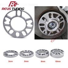 4PCS/Lot 3mm 5mm 8mm 10mm Universal Aluminum Fit 4&5 Lug Car Wheel Spacer Shims Plate 4x100 4x114.3 5x100 5x108 5x114.3 5x120