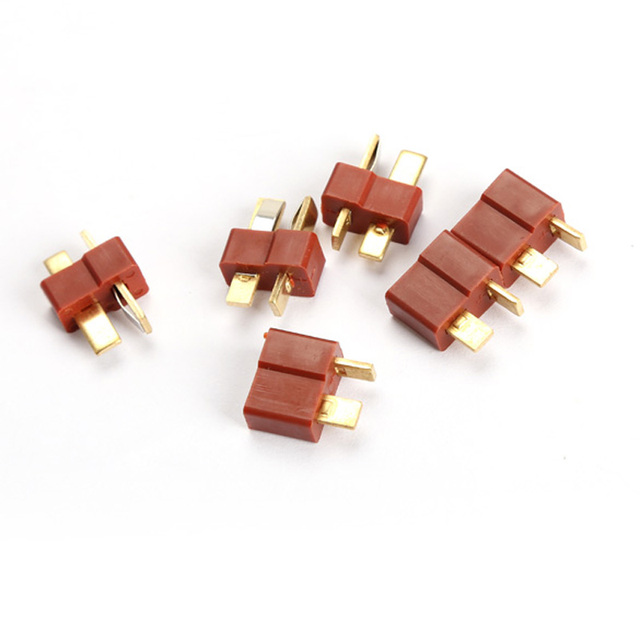 Top Quality RC Lipo Battery Helicopter 10 Pair T Plug Connectors Male Female for Deans