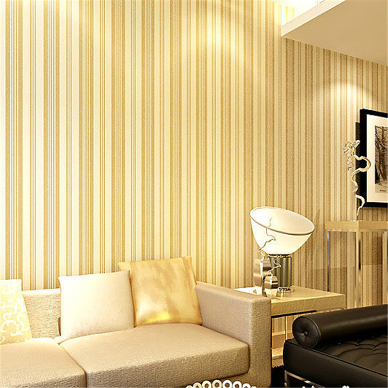 ФОТО beibehang Style Strips Striped Wallpaper for Living room TV Bedroom Wall Covering papel parede 3D photo murals of wall paper