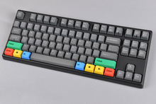 9 Key RGBY Color Keycap Blank Top/Side Printed With PBT Material Blue Yellow Green and Red For Wired USB Mechanical Keyboard