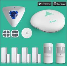 433MHZ GSM alarm system wireless  home burglar alarm GSM Alarm Systems with wireless indoor siren