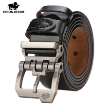 BISON DENIM Men Belt For Men Cowskin Gen