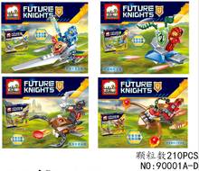 jx Knights of the future  Building Blocks Bricks Toys For Children Gift