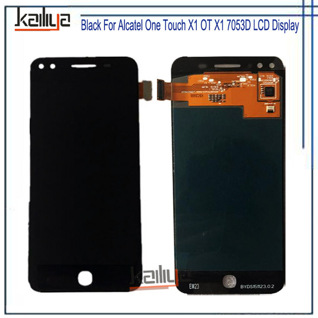 US $95 99 |New Complete Assembly For Alcatel One Touch X1 OT X1 7053D LCD  Display Screen + Touch Panel For Alcatel One Touch X1 OT X1 7053D-in Mobile