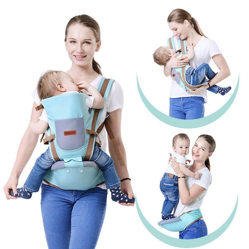4 In 1 Baby Kangaroo Bag Breathable Front Facing Baby Carrier Infant Backpack Pouch Wrap Baby Sling For Newborns Ergoryukzak-in Backpacks & Carriers from Mother & Kids on AliExpress