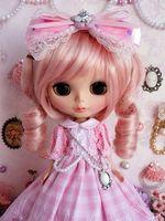89 Pretty Lolita Long Dress Handmade For Blythe Pullip Doll Dollfie