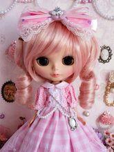 89 # Pretty Lolita longue robe faite à la main pour Blythe Pullip Doll Dollfie