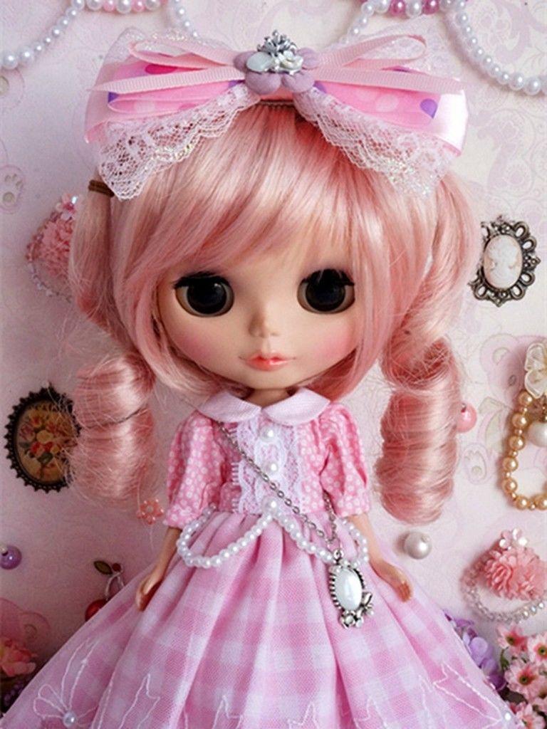 89# Pretty Lolita Long Dress Handmade For Blythe Pullip Doll Dollfie трикотаж lolita angelic pretty