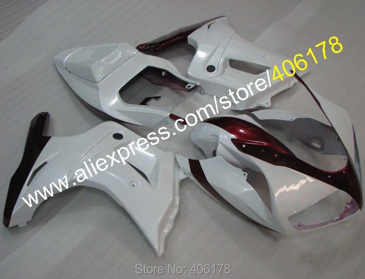 Лидер продаж, дешевые SV 650 S Обтекатели для Suzuki SV650 03 13 SV650S 2003 2013 SV650s Белый ABS кузовов Motorycycle обтекатель комплект