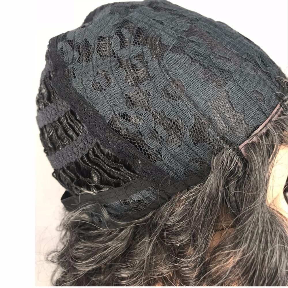 StrongBeauty Women's Parycken Auburn Mix Bob Short Straight Hair - Syntetiskt hår - Foto 5