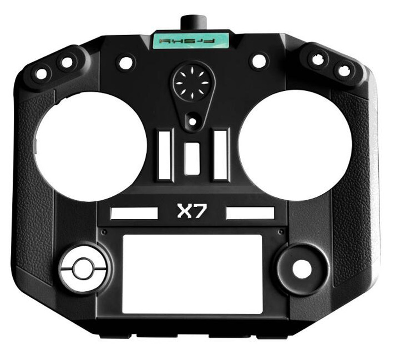 Original Frsky Taranis Q X7 Shell Replacement Housing Cover Skin black/white For Frsky Parts replacement part for xbox one elite controller parts shell bumper cover housing case for gears of war original