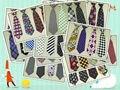 (10 unids/lote) más de 100 colores para niños tie bebé moda debe tener el patrón de estrellas de La Música como la guitarra pequeña corbata