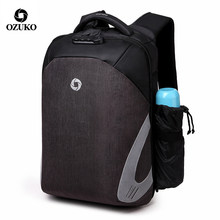 Ozuko Tas Ransel Anti-Theft Multifungsi USB Charge Laptop Ransel Mochila Feminina Ransel Wanita Mochilas Bagpack(China)