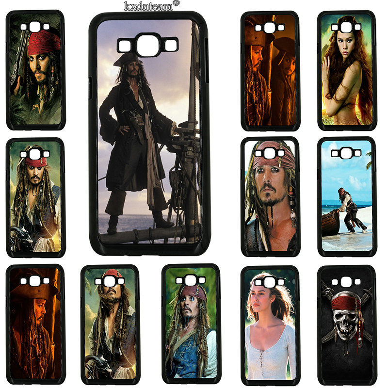 Pirates Of The Caribbean Phone Cases Hard PC Cover for Samsung Galaxy J1 J2 J3 J5 J7 on5 on7 on8 2016 2017 Prime J530 J730 Shell