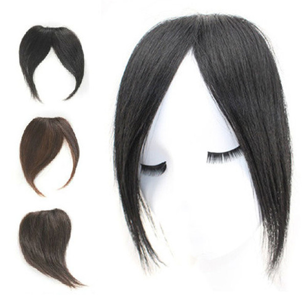 100 Virgin Human Hair Bangs Fringe Clip In On Extensions 3 Different Style Hot