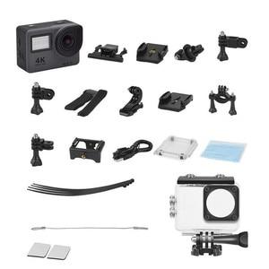 "Image 5 - Mini 4K Action Camera Sansnail WIFI 2.0"" Screen Full HD Allwinner 30fps Mini Helmet Waterproof Sports DV Camera remote control"