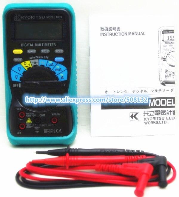Free shipping KYORITSU 1009 Digital Multimeter !!! BRAND NEW!!!-in Multimeters from Tools    1