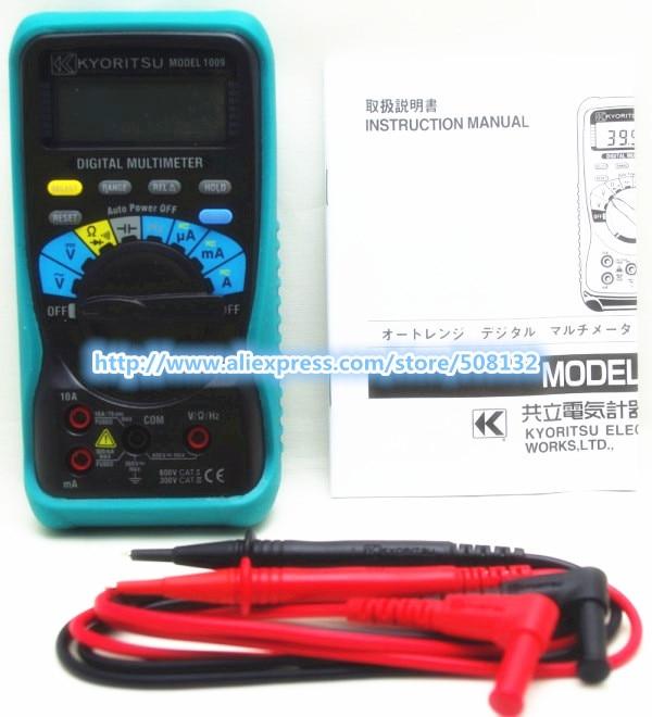 Freies verschiffen KYORITSU 1009 Digital Multimeter!!! MARKE NEUE!!!-in Multimeter aus Werkzeug bei AliExpress - 11.11_Doppel-11Tag der Singles 1