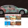 150x20m/Roll Rust Vinyl Car Wrap Full Body Car Sticker Rusty Stylegraffiti highlight Film Car Rust Protection