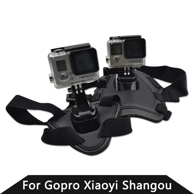 GoPro buscar perro de montaje perro arnés correa de pecho de montaje para  cámara Hero 4 838c5523f967