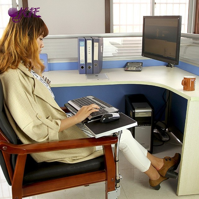 Multifunctoinal Full Motion Desk Edge Table Side Chair Leg Clamping Mouse Pad Keyboard