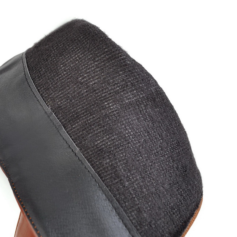 3 Moda Para Black 33 Otoño Mujer 2 3 45 3 3 Alto Tamaño Botas Zapatos brown white Plataforma Tacón 2 De Invierno Altas Rodilla En Colores 2 Evchar E xzAqXC