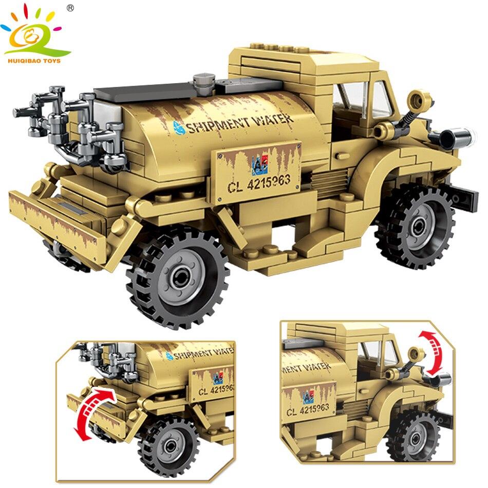 Купить huiqibao 284 шт армия канада ww2 строительные блоки для грузовиков