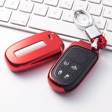 Мягкий ТПУ чехол для автомобильного ключа ключей jeep grand