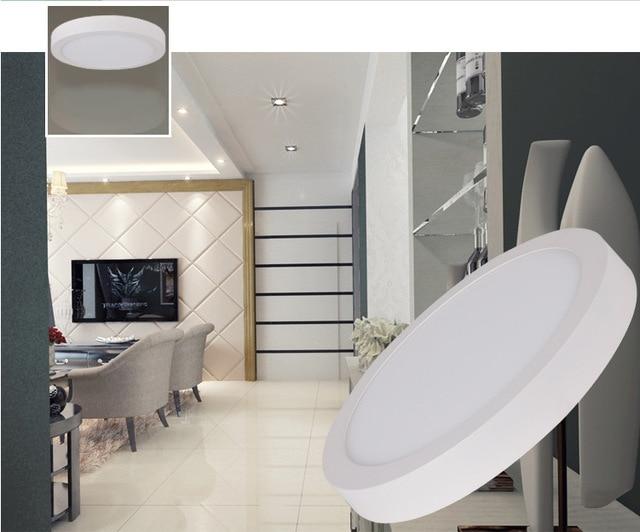 Sainavi Runde Led Panel Licht Downlight 6 24 Watt Super Dnne Flache Lampe Wohnzimmer