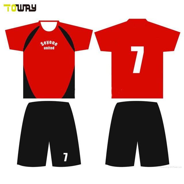 0c3cb77ce3b wholesale custom kids football shirt maker soccer jersey-in Soccer ...